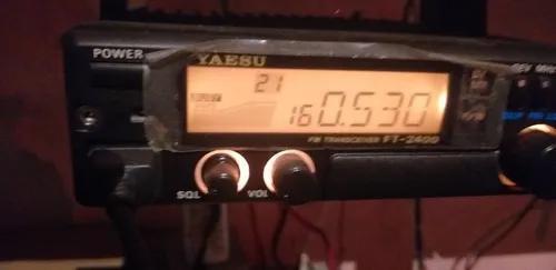 Rádio amador, yaesu ft 2400 vhf.