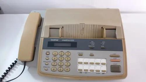 Telefone fax brother intellifax 620 antigo vintage anos 90