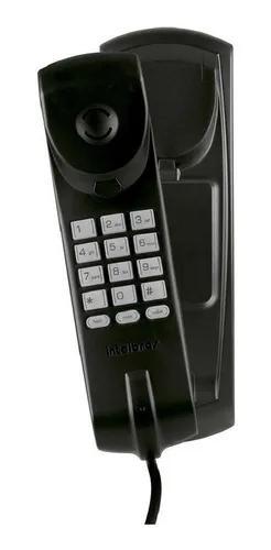 Telefone fixo condominio com fio intelbras tc20 preto