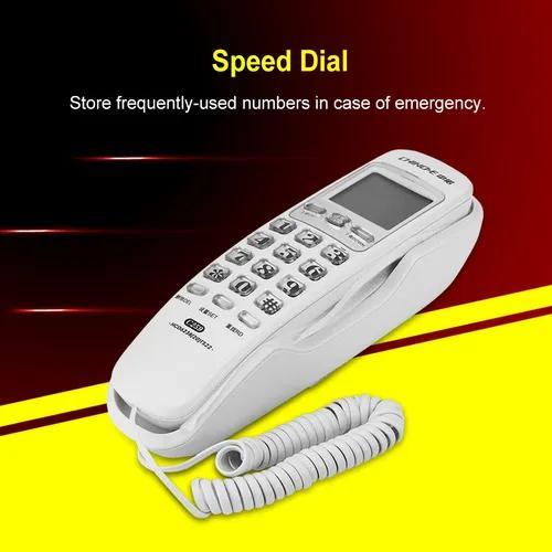 Um -botão redial parede telefone chamada pesquisa não -int