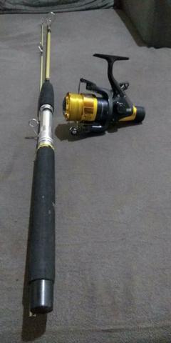 Vara de pesca nova