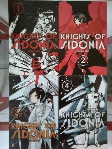Vendo mangá knights of sidonia 1 a 4 r$ 50,00
