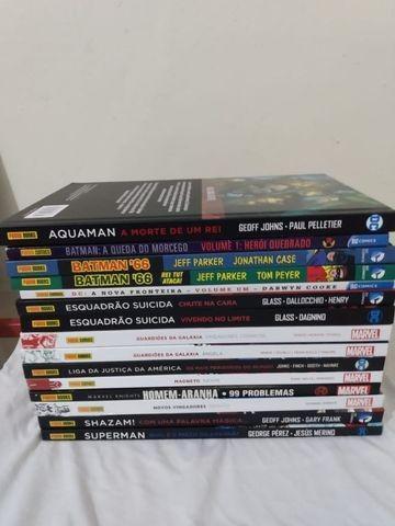 Vendo quadrinhos marvel e dc