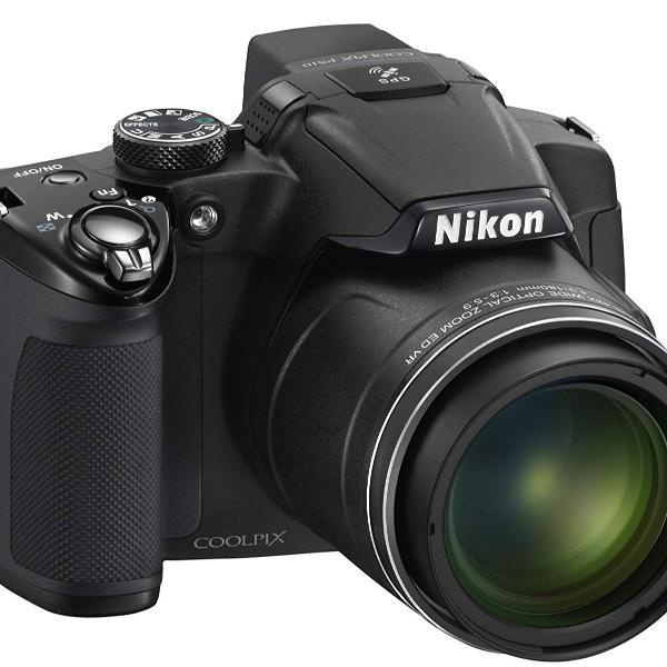 Camera semi profissional nikon coolpix p510