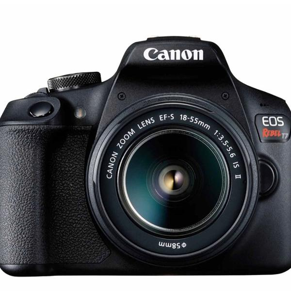 """Câmera digital canon eos rebel t7 dslr com 24.1 mp, 3"""","""