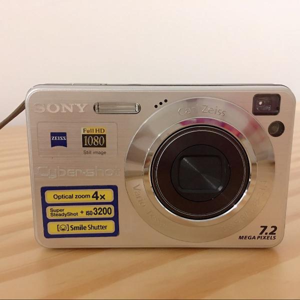 Câmera fotografica digital sony