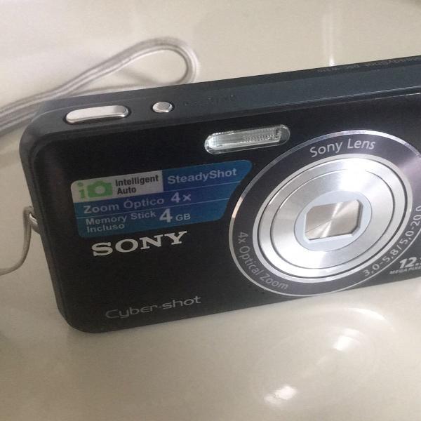 Sony cyber-shot dsc w-310 preta 4gb