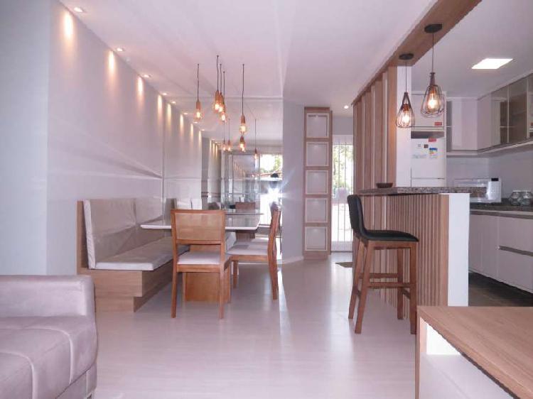 Apartamento mazza capão raso 2 quartos 1 suíte sacada