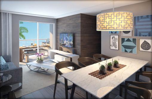 Apartamento de 3 quartos, suíte e lazer completo em nova