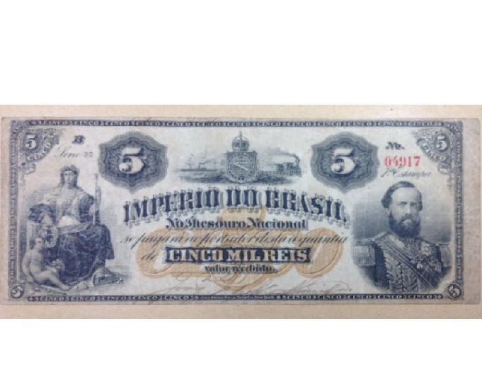 Compro notas de réis do império pago até r$300 cada-sp