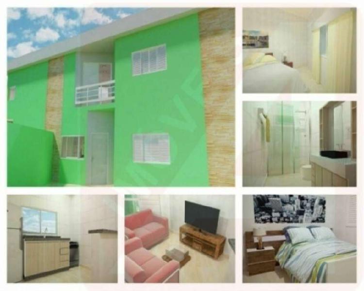 Casa de praia a venda em itanhaém, 02 dormitorios, jardim