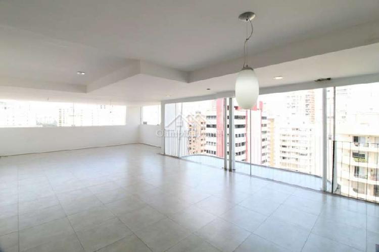Cobertura duplex à venda com 251m² pinheiros, sp