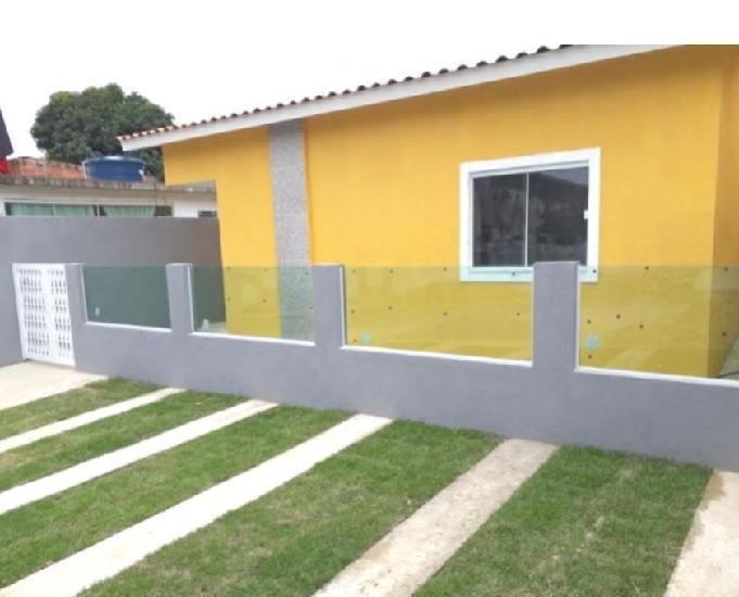 Jd. monteiro - casa linear nova 2 quartos - 60m2 - docs ok