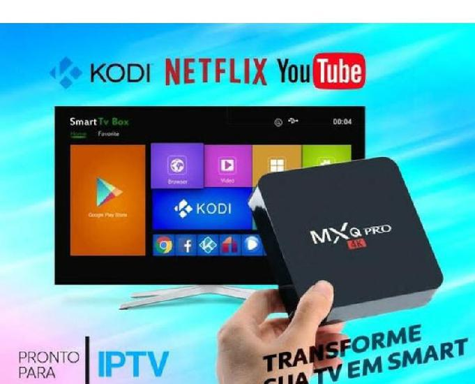 Tv box mxq 4 k 32gb novo na caixa
