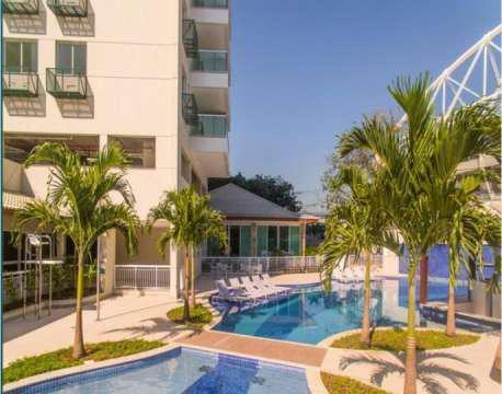 Vendo excelente apartamento 2qts com suite próximo ao