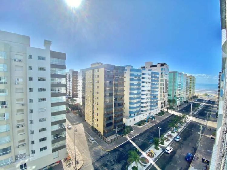 Av. ubirajara!!! apartamento com vista eterna para o mar.