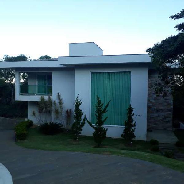 Casa no condomínio quintas do sol - 398 m2