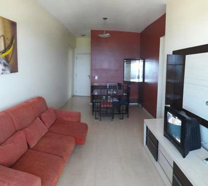 Condomínio barra bali, 2 quartos sendo 1 suíte, mobiliado.