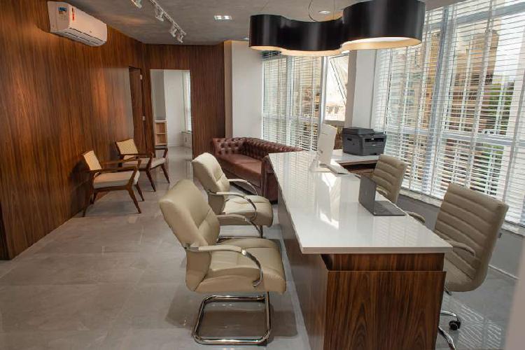 Consultórios médicos novos para alugar-avenida trompowsky,