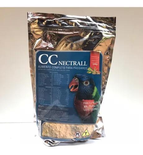 Kit 2 cc nectrall 500g - biotron papa para lóris