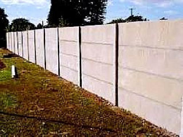 Muro pré moldado região de campinas