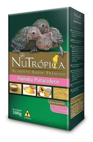Nutrópica papinha para psitacídeos 500g val 03/20