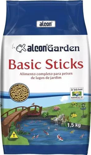 Ração alcon garden basic sticks 1,5 kg