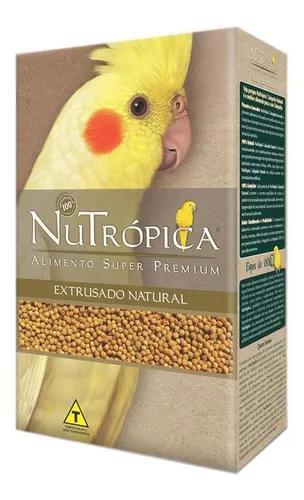 Ração nutrópica para calopsitas natural 900g