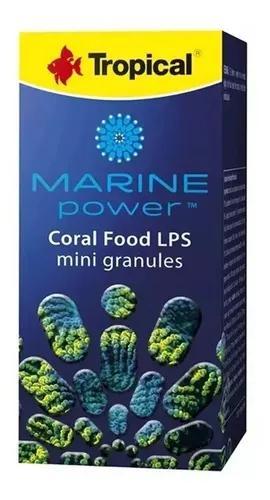 Ração tropical marine power coral food lps mini granules