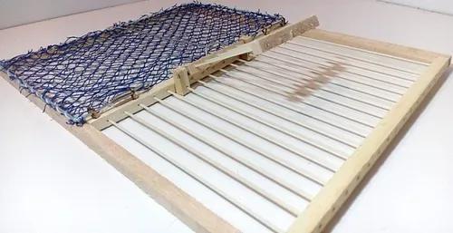 Rede batedeira para pássaros de chão - 35x27cm