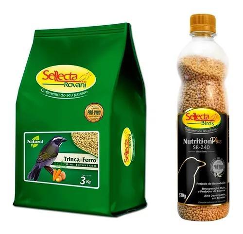 Trinca-ferro sellecta natural 3k + nutrition plus sr240 330g