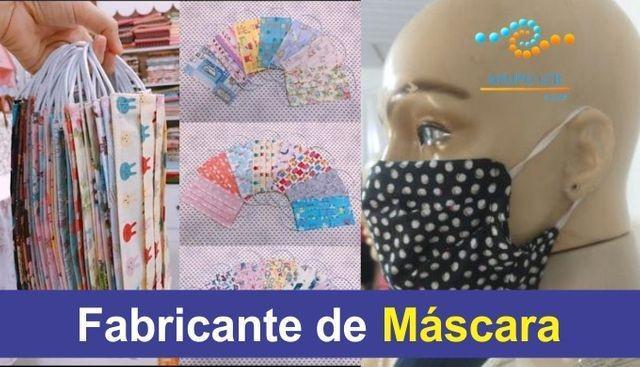 Uniformes profissionais e mascaras de tecidos direto da