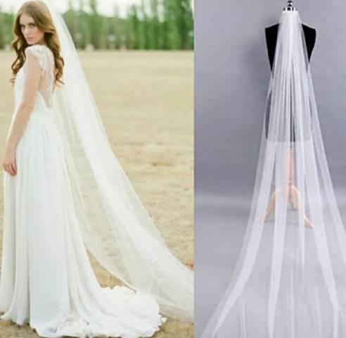 Véu longo noiva
