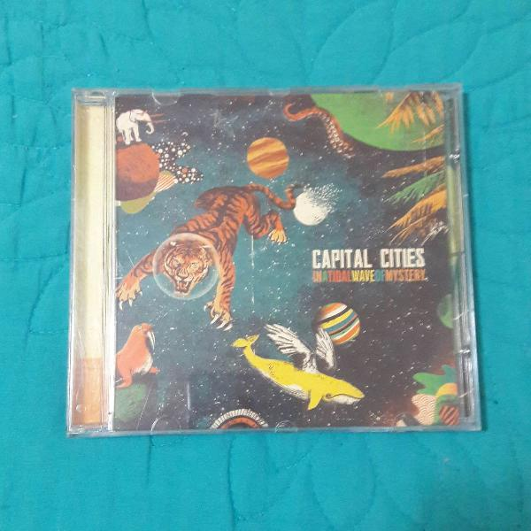 Capital cities - in a tidalwave of mystery (cd original)