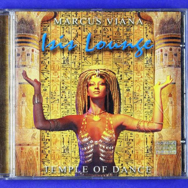 Cd . isis lounge . marcus viana . temple of dance 2002
