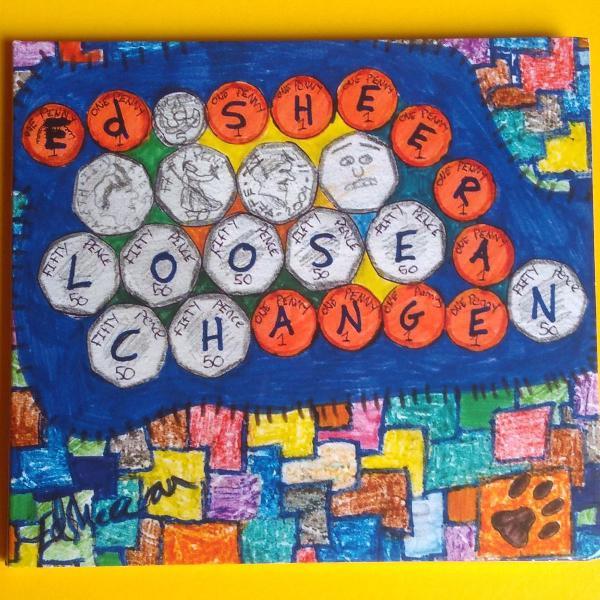 Cd loose change - ed sheeran