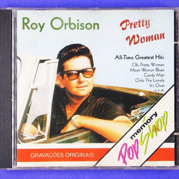 Cd . roy orbinson . pretty woman . all-time greatest hits