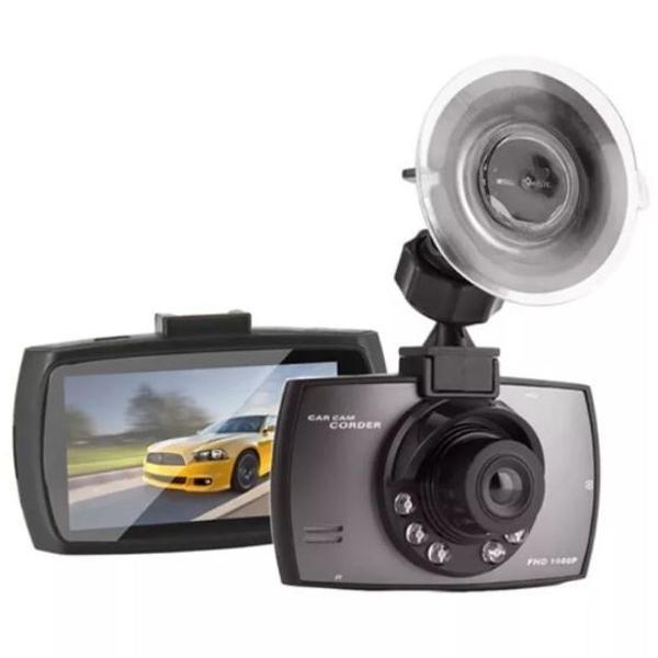 Câmera filmadora veicular luz led visão noturno-novo
