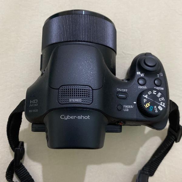 Câmera sony cyber-shot dsc - hx300