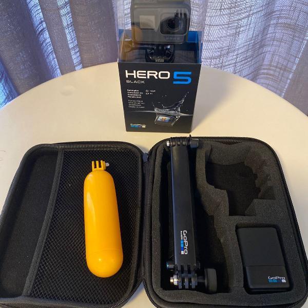 Kit gopro hero 5 black mais acessórios originais