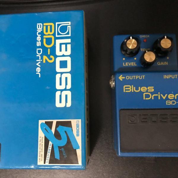 Pedal blues drive boss
