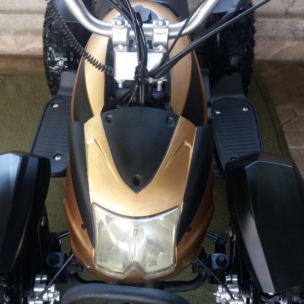 Quadriciclo 50cc partida elétrica e manual motor a