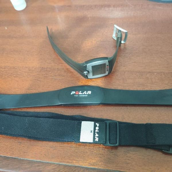 Relógio polar ft1, com monitor cardíaco + cinta