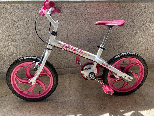 Bicicleta infantil caloi ceci aro 16 (não acompanha
