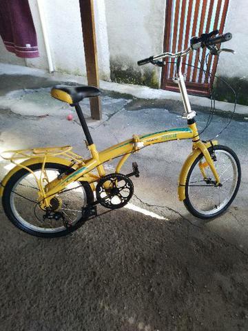 Bike dobrável estudo troca