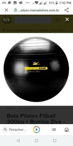bola de pilates 55cm mercado livre