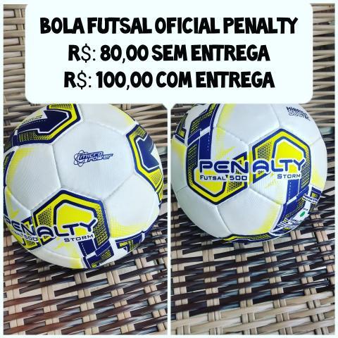 Bola de futsal oficial pênalty - r$: 80,00 (nunca usada)