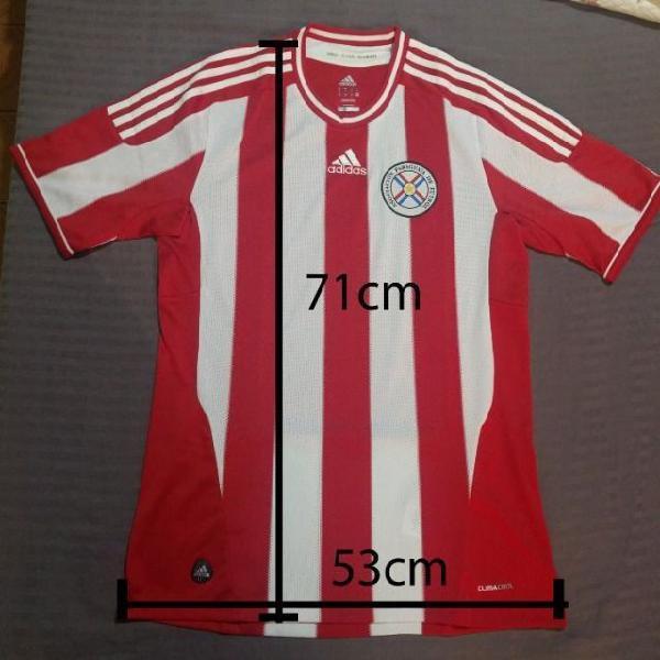Camisa futebol adidas paraguai home 2011/2012 m