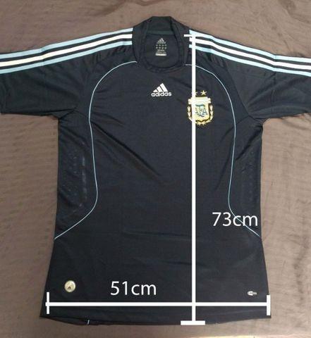 Camisa futebol argentina away 2008/2009 m