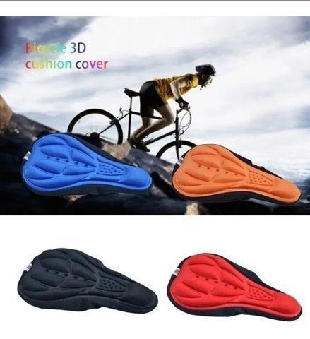 Capa gel banco selim almofada forro para bicicleta